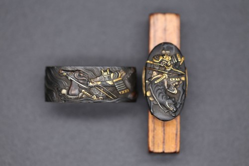 Vanguard in the Battle of the Uji River Fuchi-Kashira